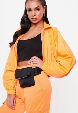 01f4cd9c34 Plus Size Black Drippin Graphic Vest T Shirt Dress · Black Square Utility  Bumbag