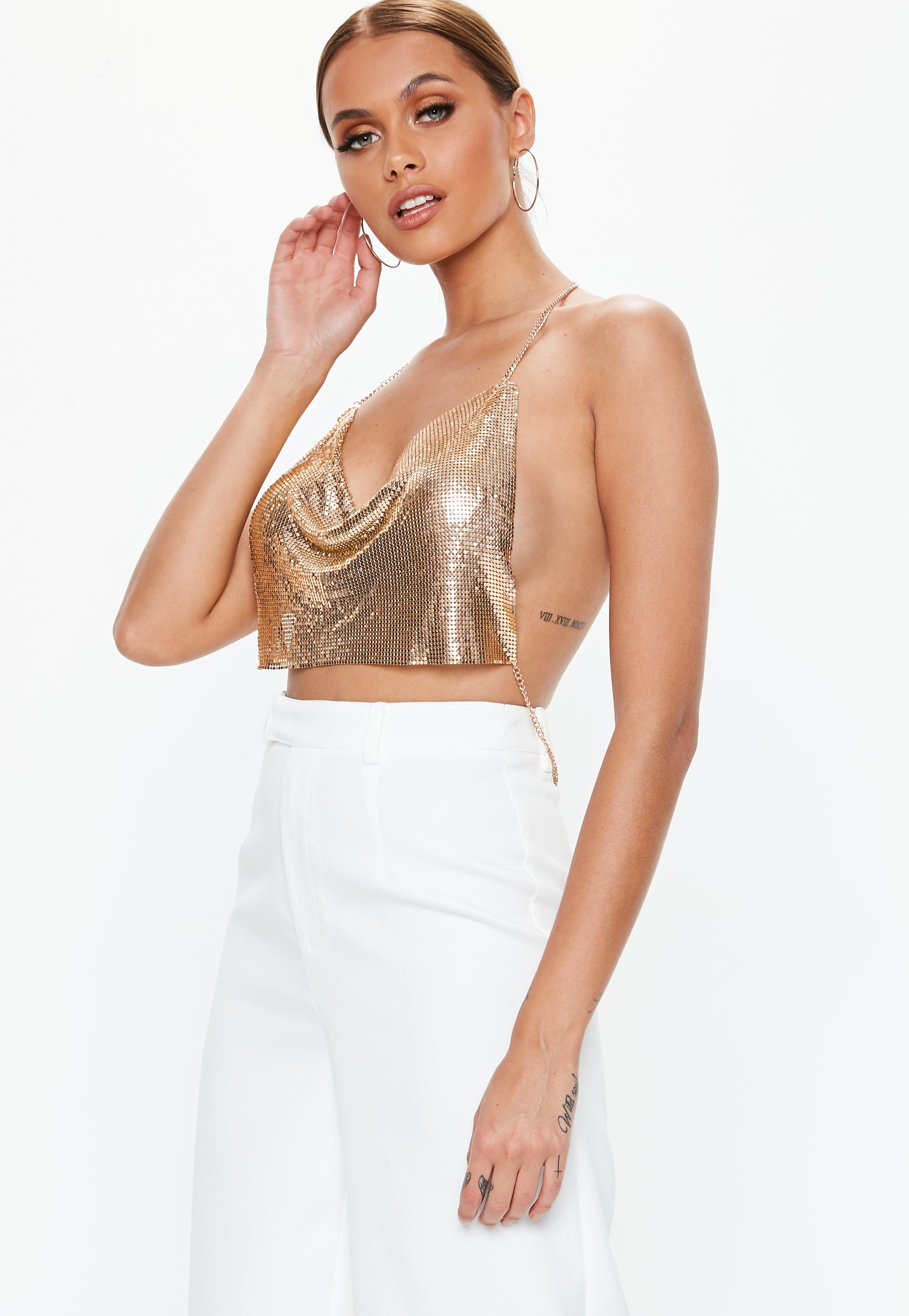 Backless Tops | Open Back & Low Back Tops - Missguided