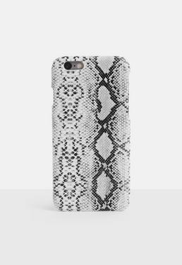 Чехол для iPhone 6/6 S с изображением серой змеи