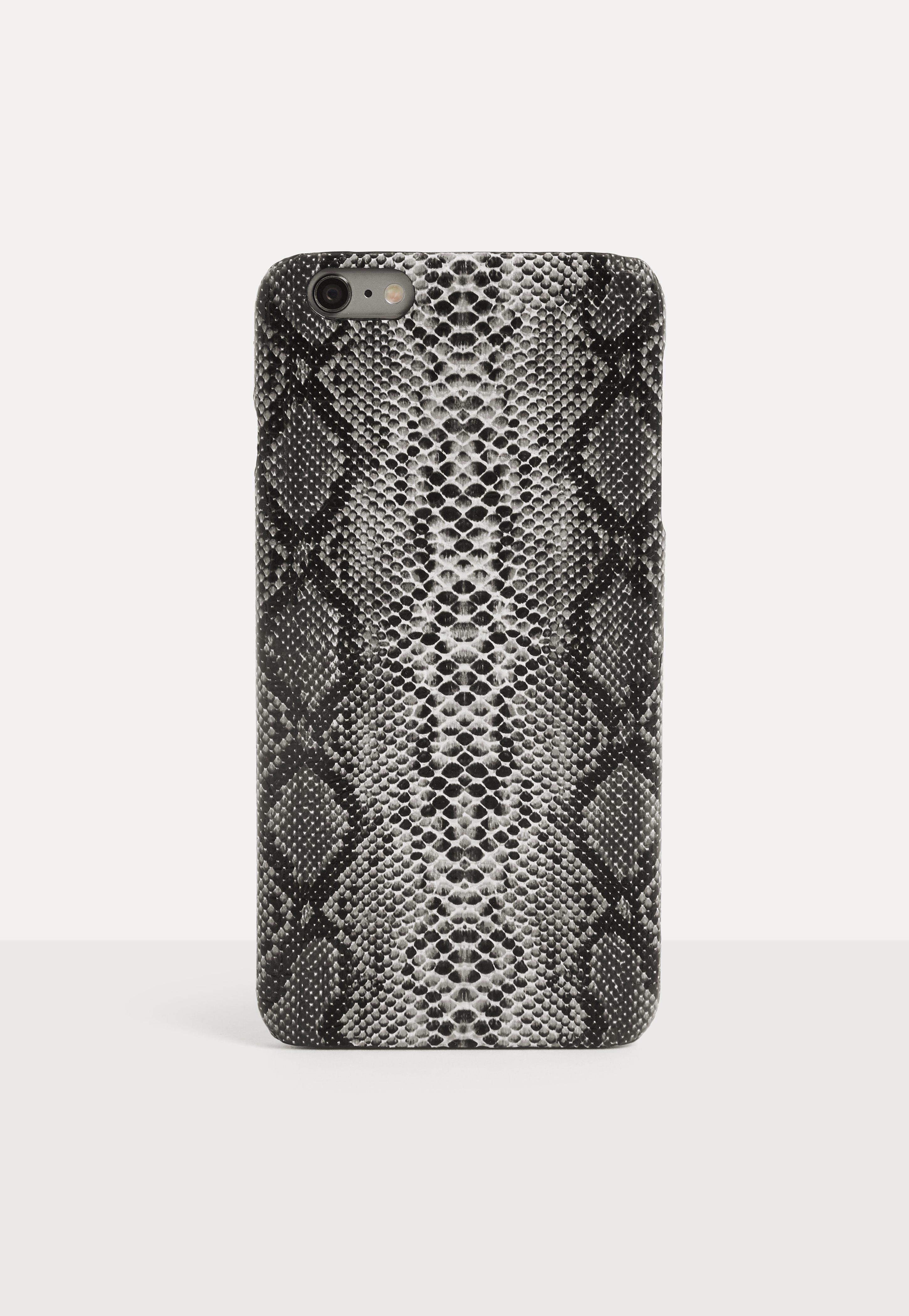 new concept 77d5e de82a Dark Gray Zebra Print iPhone 6 Plus/6 S Plus Case