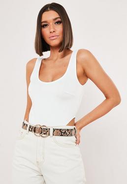 d77fa10c0ecd ... Maxi Dress · Brown Snake Print Double Ring Belt