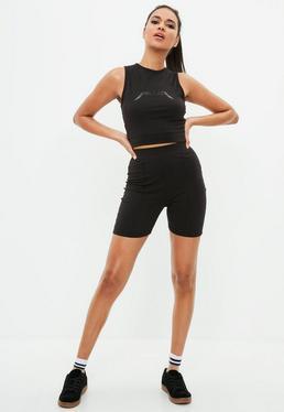 Active Black Cycling Shorts