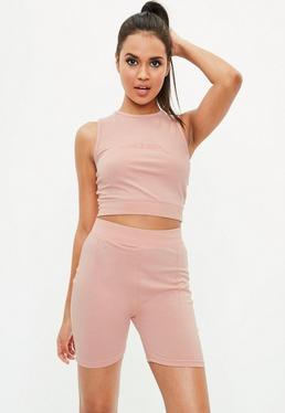 Active Pink Cycling Shorts