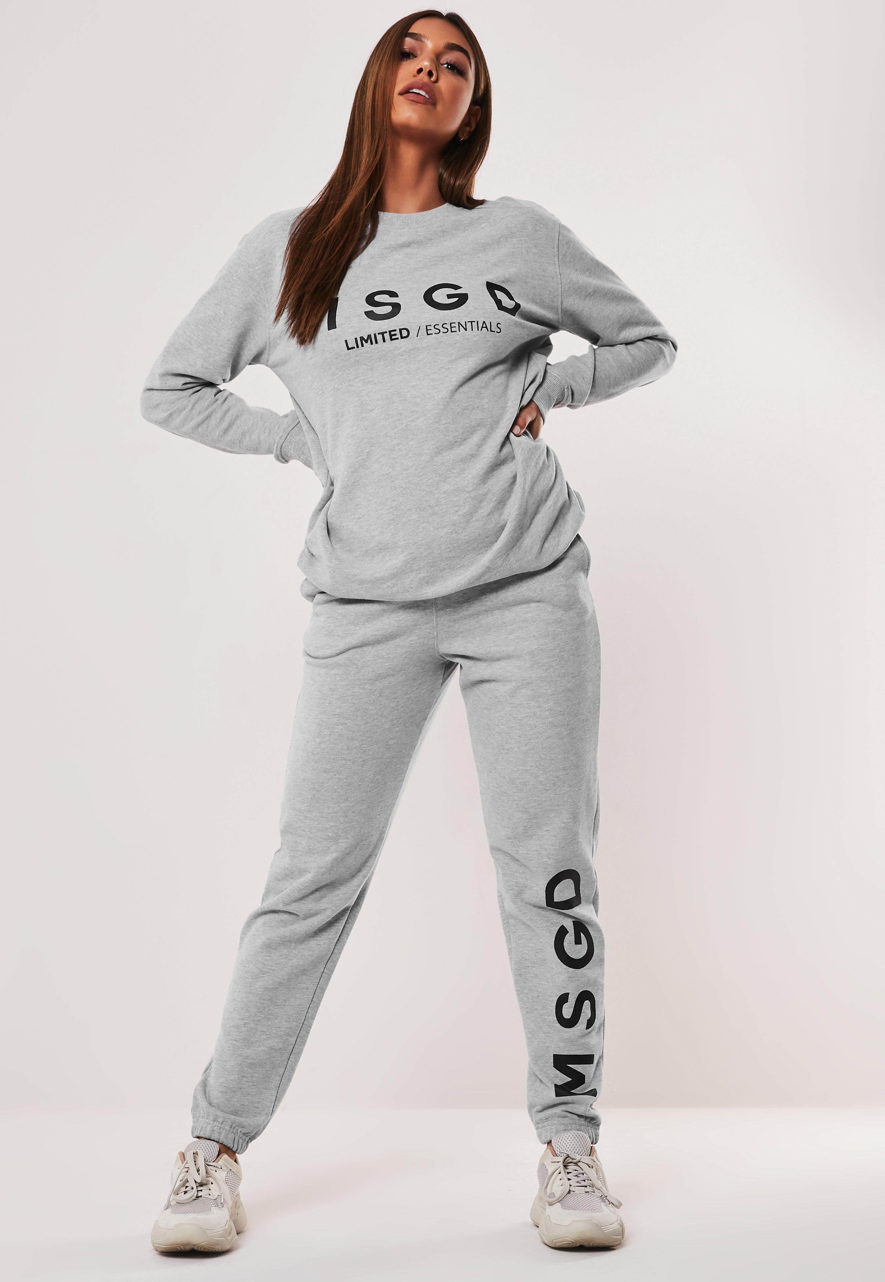 aesthetic appearance deft design classic style Active Grey Co Ord MSGD Joggers