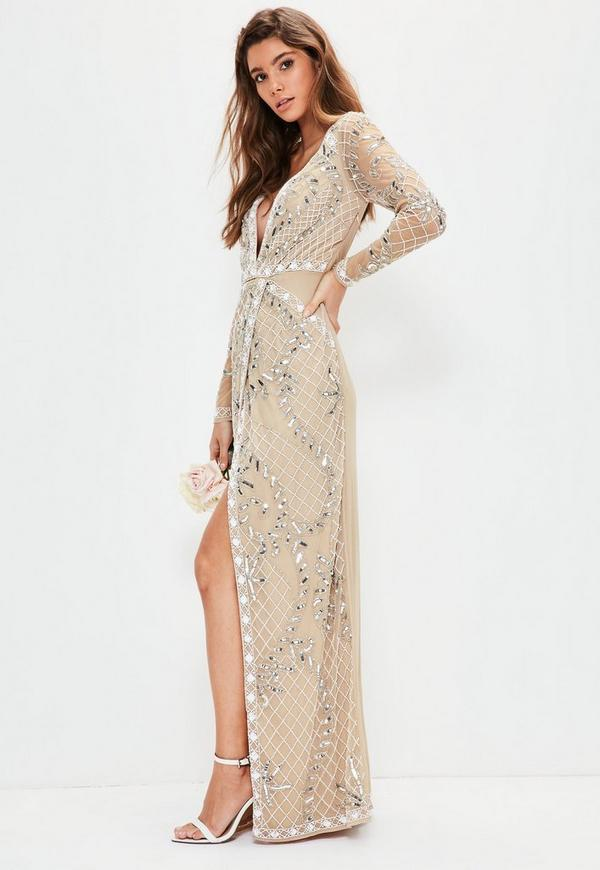 Next maxi dresses long sleeve