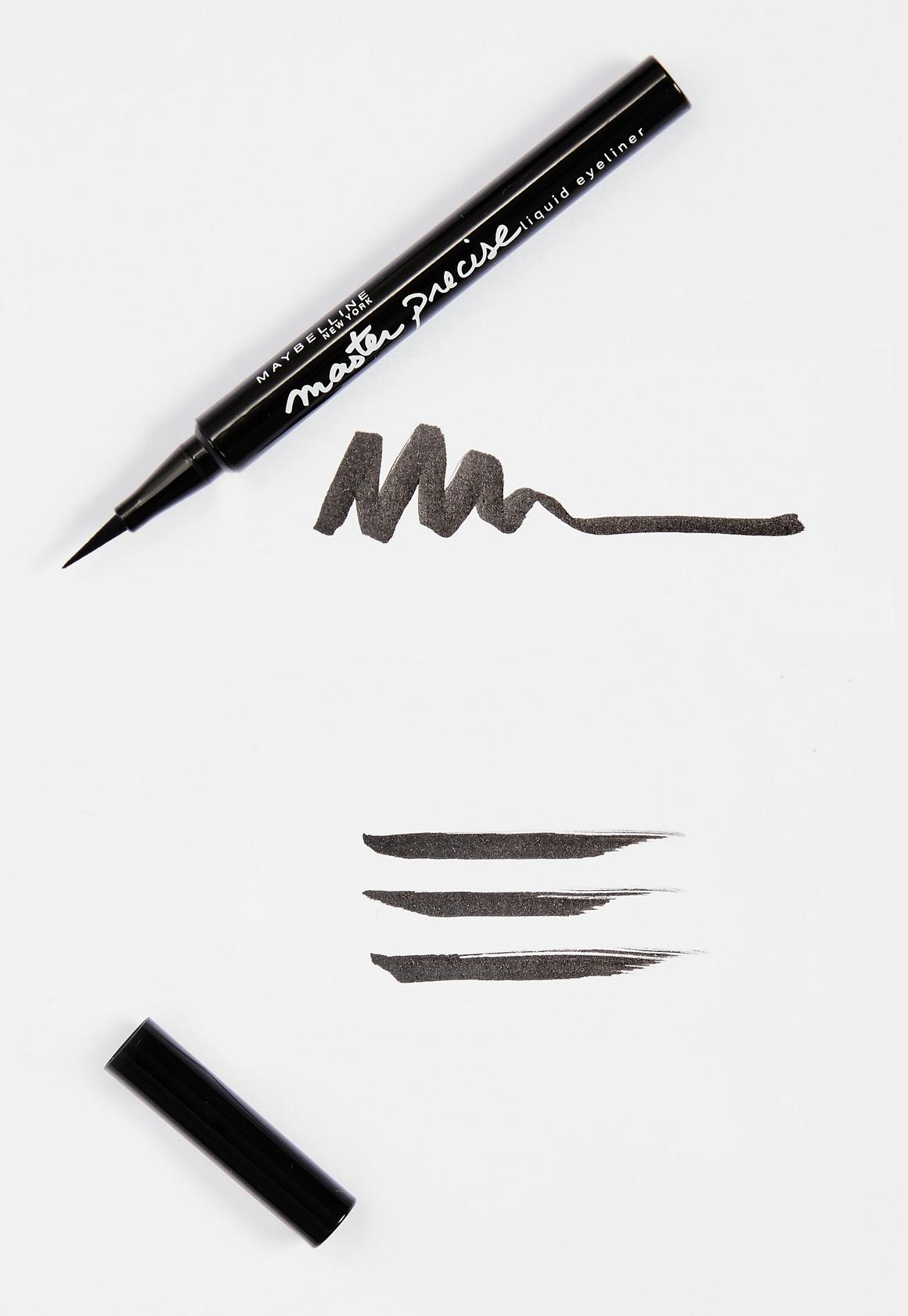 Missguided - Liner feutre Maybelline Master Precise noir - 3