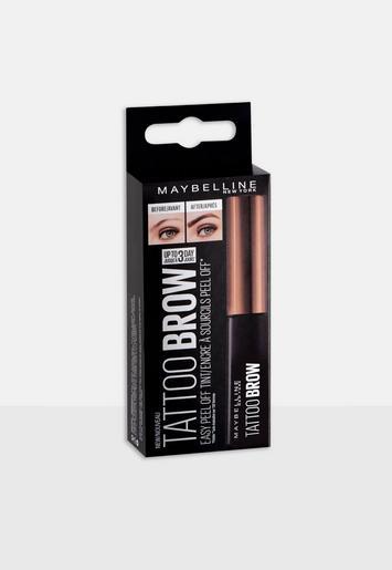 Maybelline brow tattoo longlasting tint light brown for Maybelline tattoo brow tint