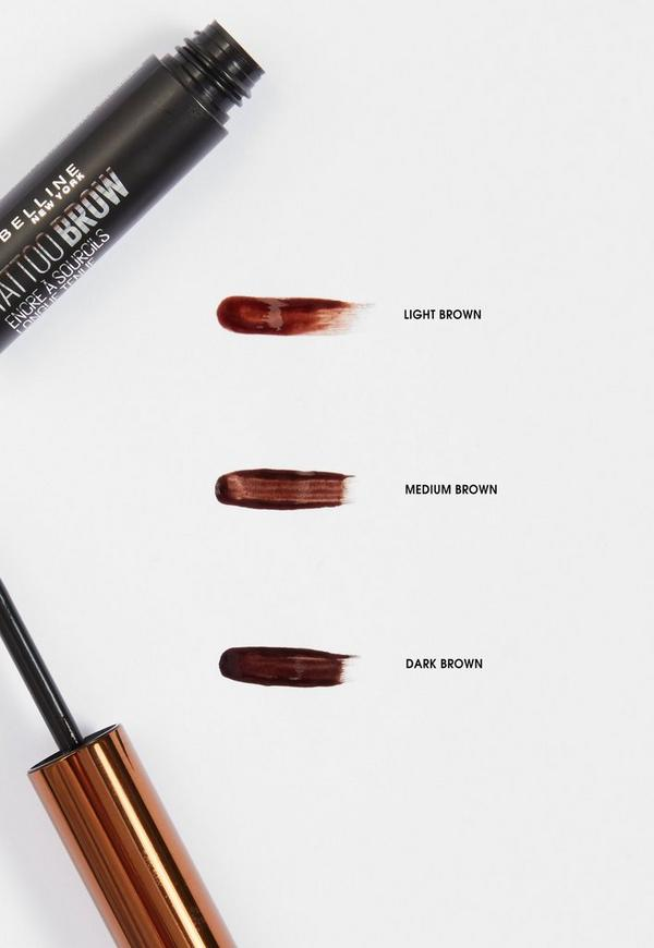 Maybelline Brow Tattoo Longlasting Tint Light Brown 49ml Missguided
