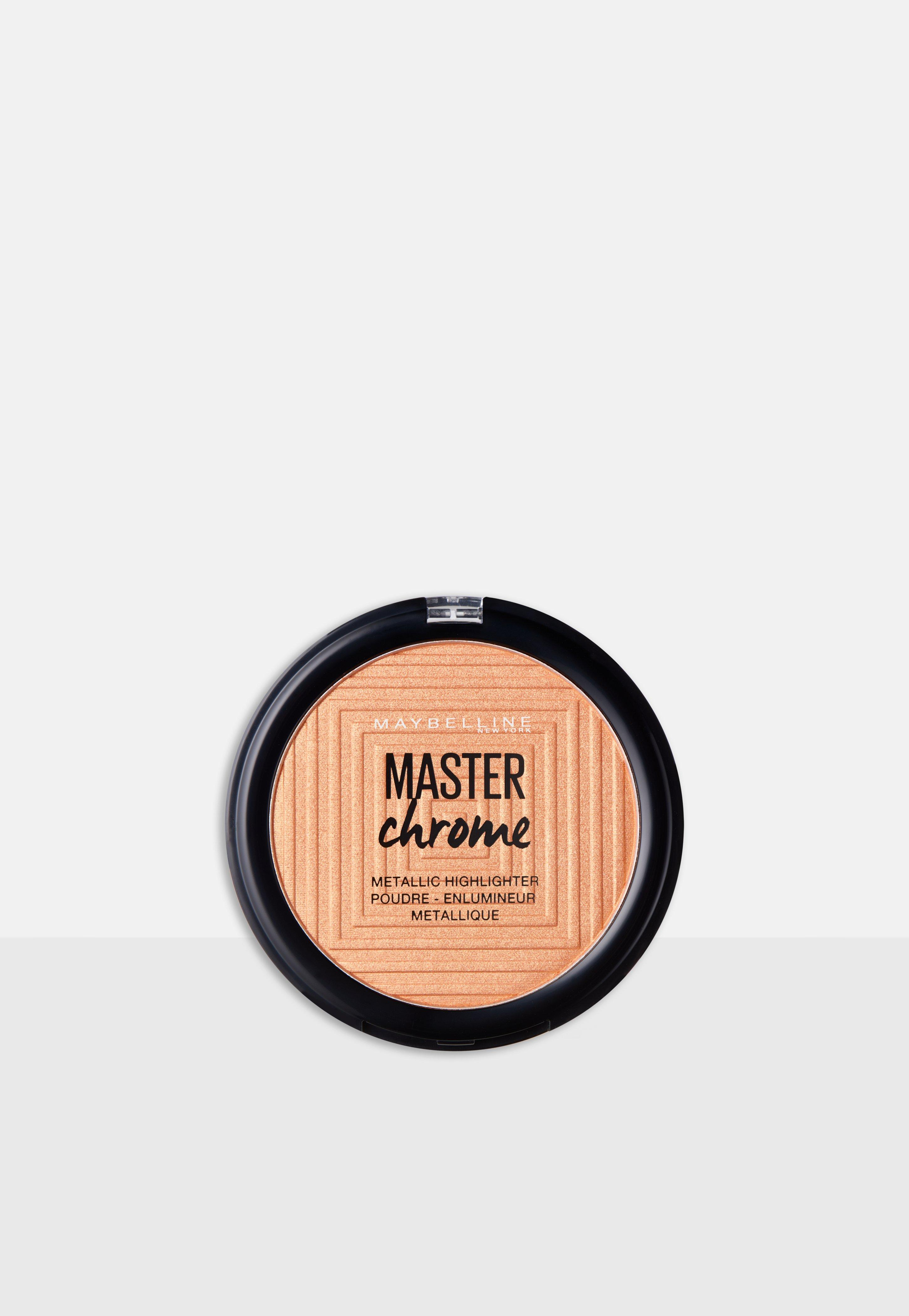 maybelline master chrome highlighting powder 100 molten gold