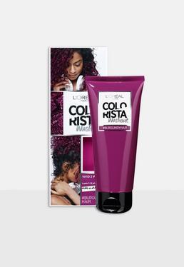 L'Oreal Paris Colorista Washout Бордовые волосы