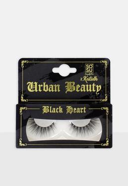 SOSU X Keilidh Urban Beauty Черные сердечные ресницы