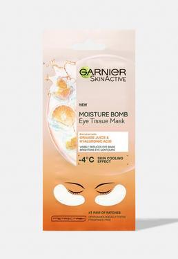 Garnier Eye Sheet Mask Гиалуроновая кислота и апельсиновый сок