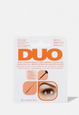Duo Brush On Dark для ресниц Клей с витаминами