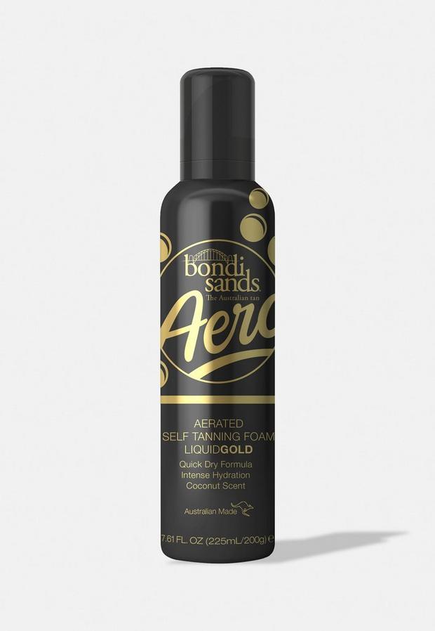 bondi sands liquid gold aero aerated self tanning foam 225ml