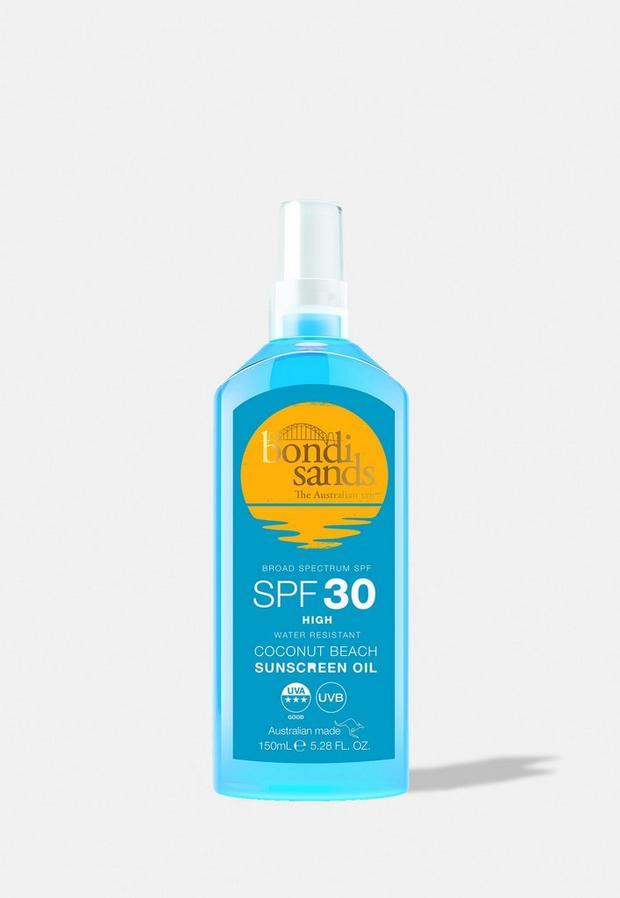 bondi sands sunscreen oil spf30 150ml