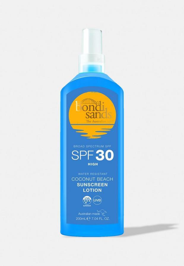 bondi sands sunscreen lotion spray spf30 200ml