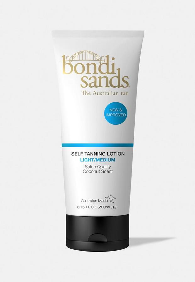 bondi sands self tanning lotion light medium 200ml