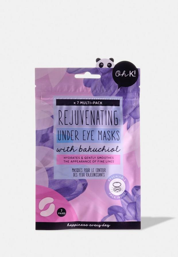 oh k! rejuvenating under eye mask multi-pack - 7 pairs