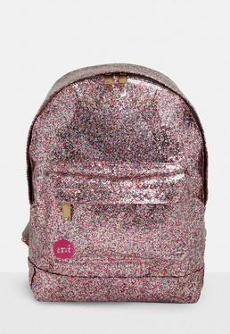 Mi pac Pink Glitterball Back Pack