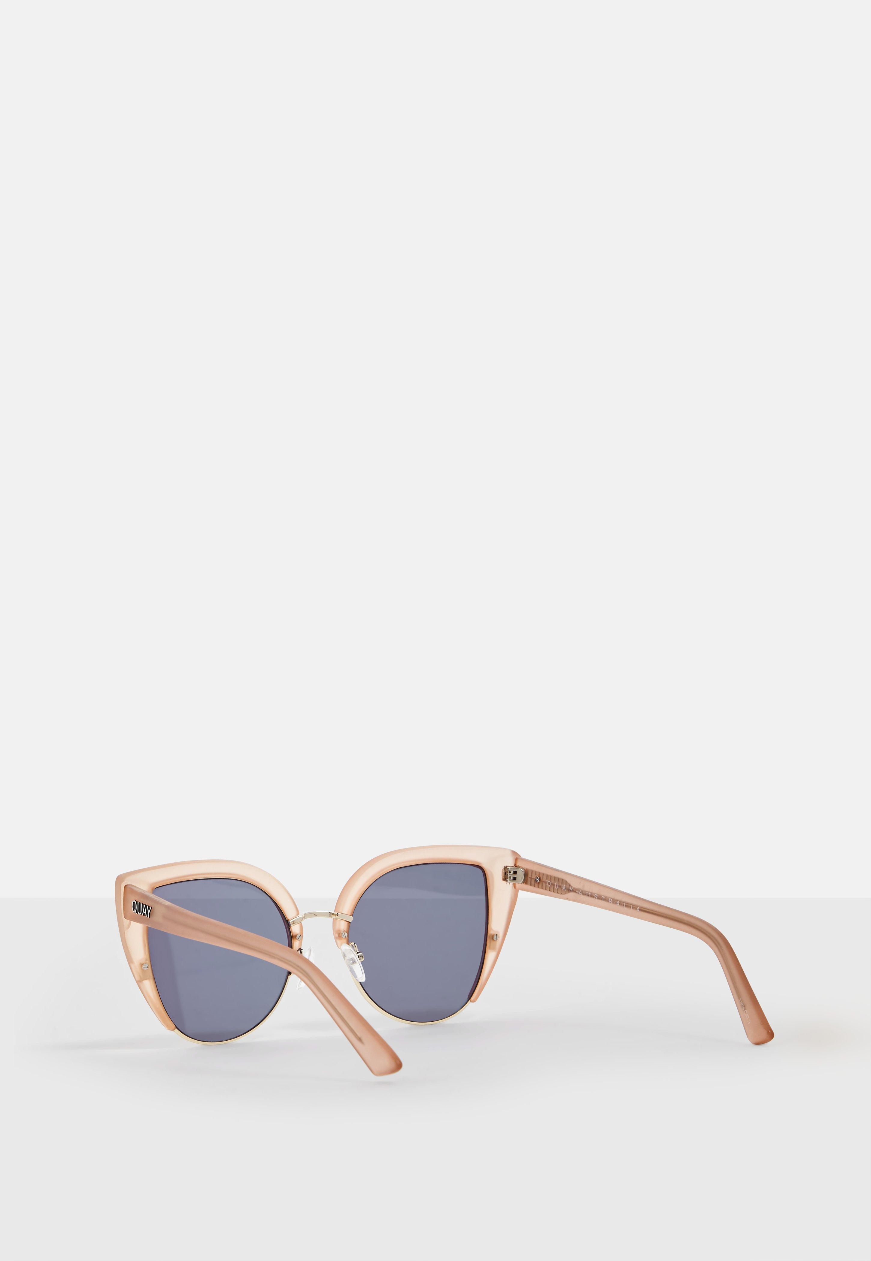 Quay Australia - Oh my dayz - Lunettes de soleil yeux de chat - Or rose - Doré T0QfNrapzP