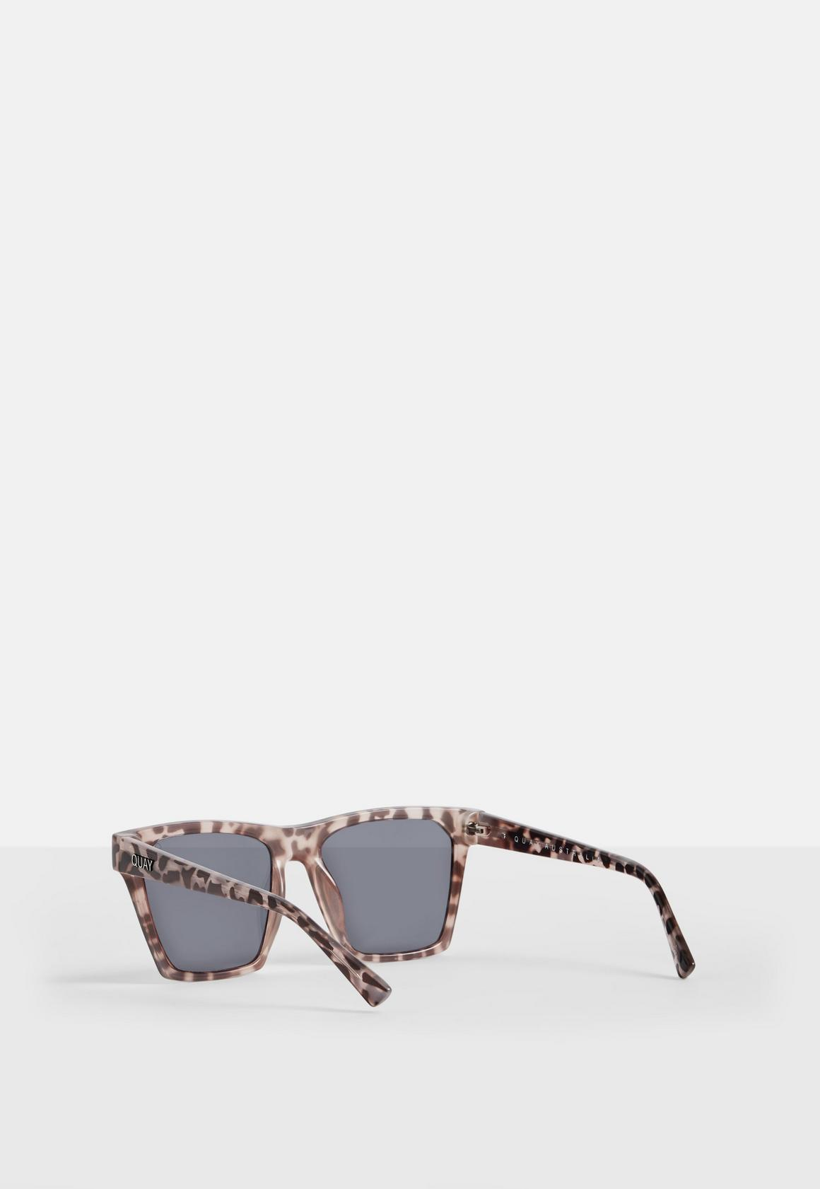 9c3469ff8c Missguided - Quay Australia x Missguided Tortoise Gold Revo Gold Alright  Sunglasses