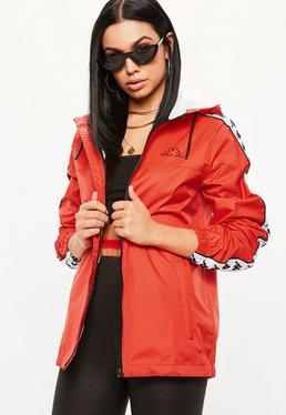 Kappa Red Banda Dawson Man Jacket