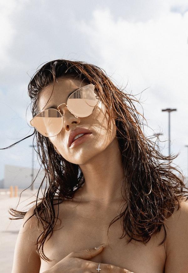 ffc4c22c304 ... Quay Australia Rose Gold All My Love Sunglasses. Previous Next
