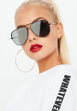 Quay Australia Gafas de sol High Key Mini en negro