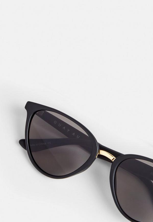 4861da86cf7 Quay Australia Black Rumours Sunglasses. Previous Next