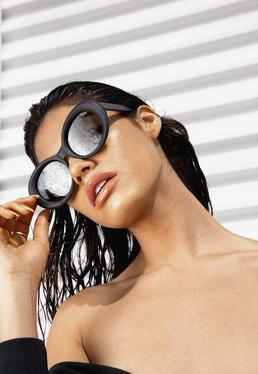 Quay Australia Gafas de sol Mess Around en negro