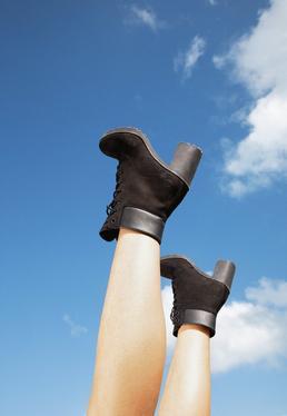 Timberland Botas Allington 6 inch con cordones en negro