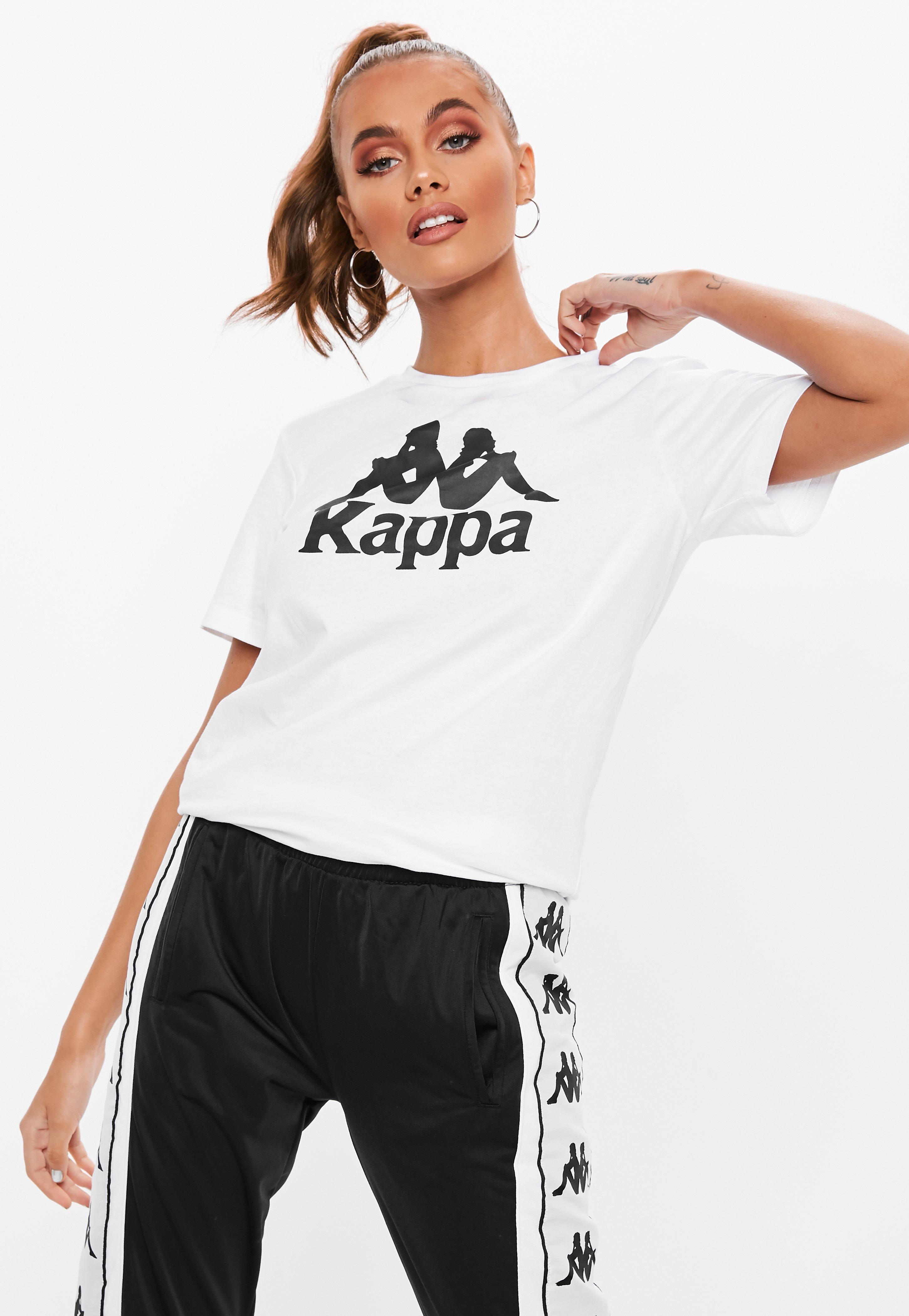 43046e7d17 Kappa White Authentic Estessi Slim Fit T Shirt