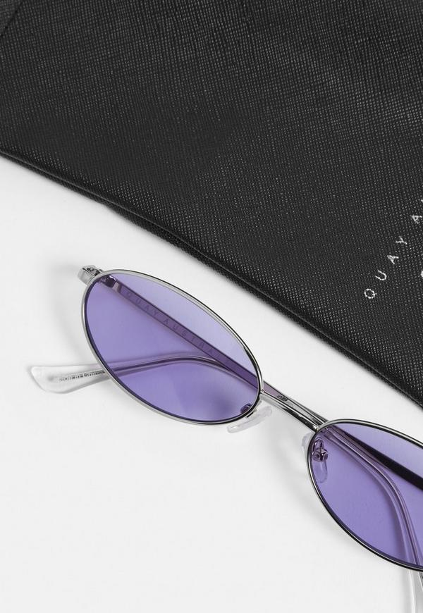 99da3078f3 ... Alissa Violet Clout Purple Sunglasses. Previous Next