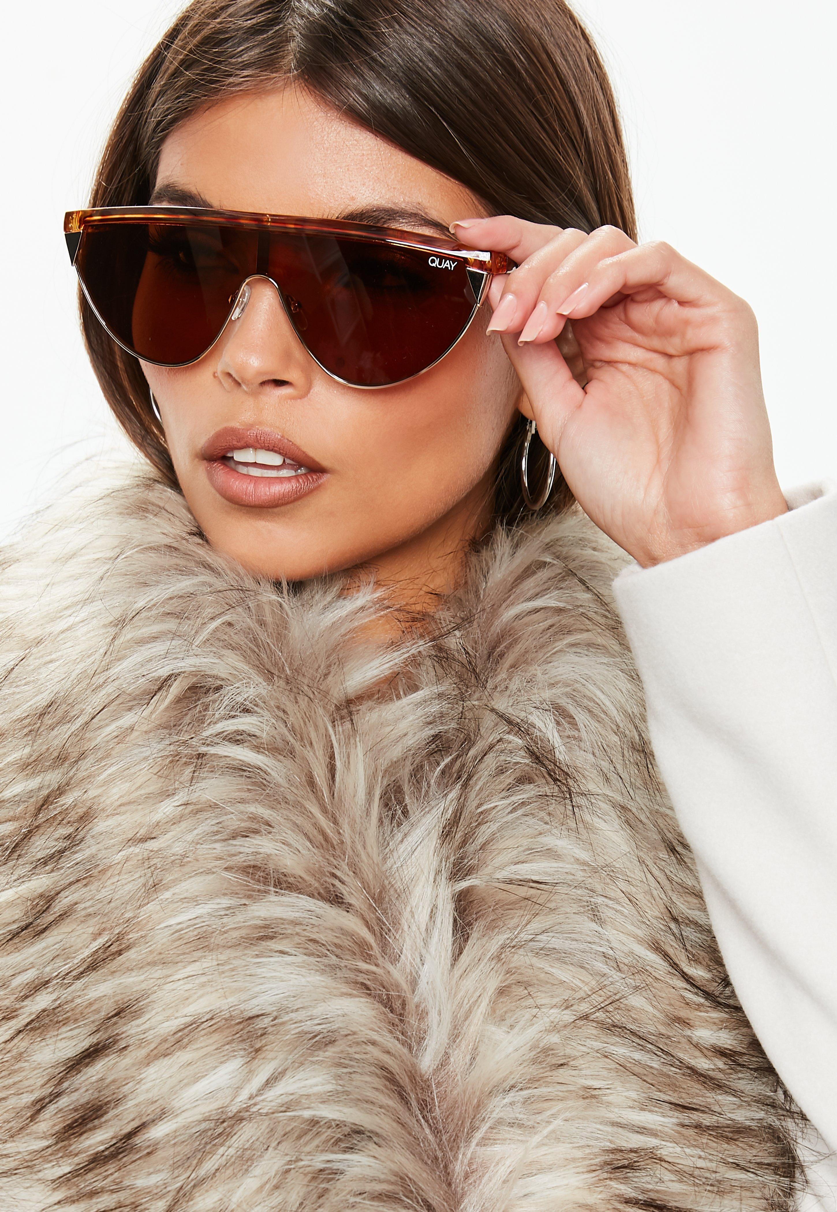 6feb5dbfea Quay Australia X Elle Ferguson Goldie Tortoiseshell Sunglasses ...