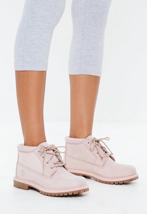 ... Timberland Pink Nellie Chukka Boots. Previous Next 76038383a
