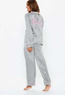 f13a8193cbc4 Satin Pyjama Set