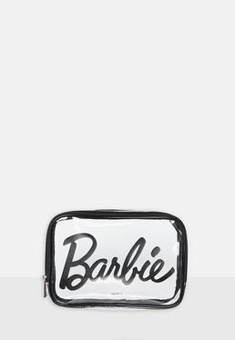 7d501d0cbc75 Barbie x Missguided Neceser de maquillaje transparente