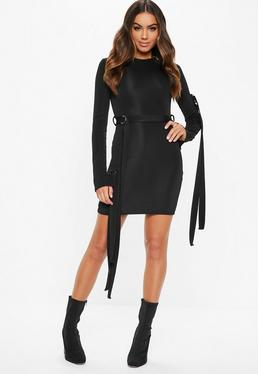 e26916d0e4 ... Fanny Lyckman X Missguided Black Parachute Dress