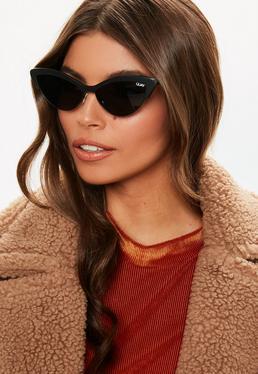 cb1f77027cab0 Quay Australia Aphrodite Violet Cat Eye Sunglasses · Quay Australia X  Finders Keepers All Night Black Sunglasses