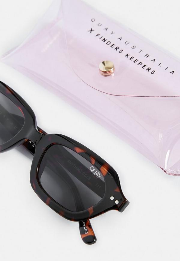 a9650f8d14 ... Quay Australia X Finders Keepers Anything Goes Tortoiseshell Sunglasses.  Previous Next