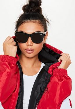 94b5ee27622 Black Oversized Sunglasses · Oversized Sunglasses · Cat Eye Sunglasses · Quay  X Alissa