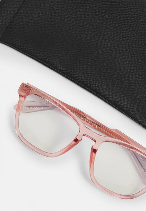 674bcaa36b4 ... Quay Australia Hardwire Pink Sunglasses. Previous Next