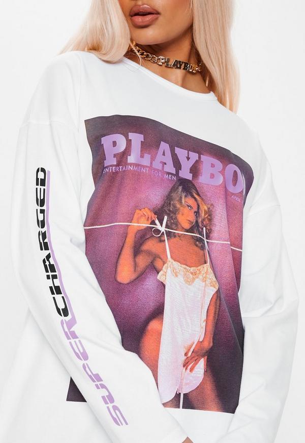 8778c0081a37b playboy-x-missguided-white-magazine-slogan-sleeve-t-
