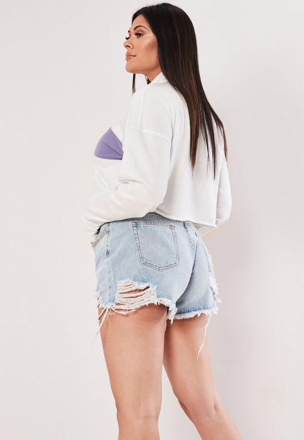 8eed561eec13e ... Playboy X Missguided Plus Size White Cropped Slogan Rugby Shirt.  Previous Next