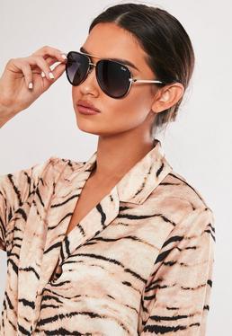 7193994e10 ... Quay Australia X JLO All In Black Sunglasses