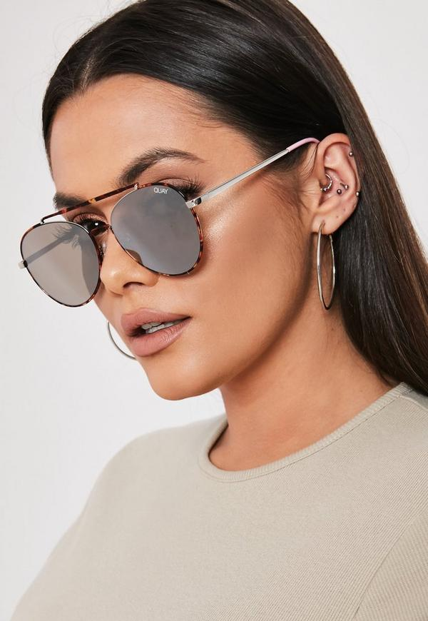 585754da26 Grey Snake Print Mix and Match High Waisted Thong Bikini Bottoms. $16.00 ·  quay australia x benefit tortoiseshell lickety split sunglasses