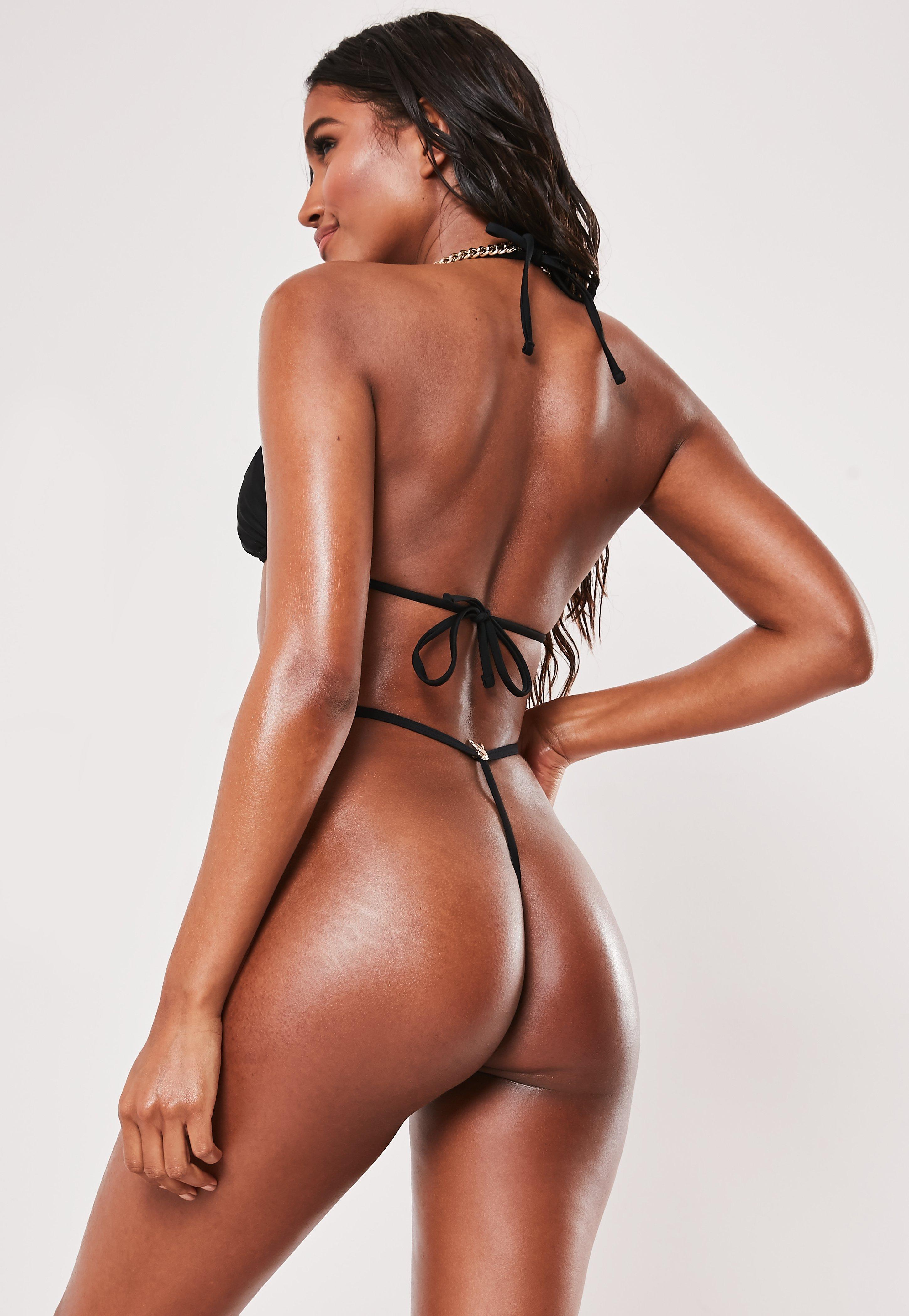 a4d1b8a225c8 Thong Bikinis | Cheeky Bikini Bottoms – Missguided