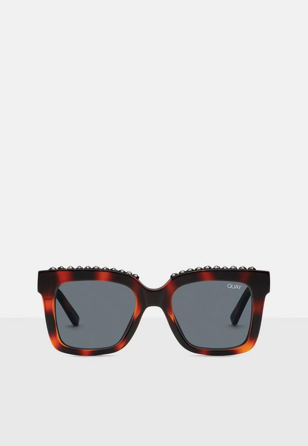 quay australia brown tortoise shell icy sunglasses