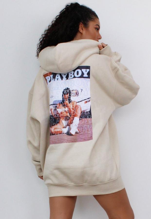Playboy Hoodie Vit