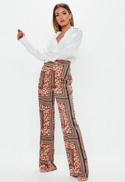 25ec92e52002 Wide Leg Trousers | Palazzo Trousers | Missguided